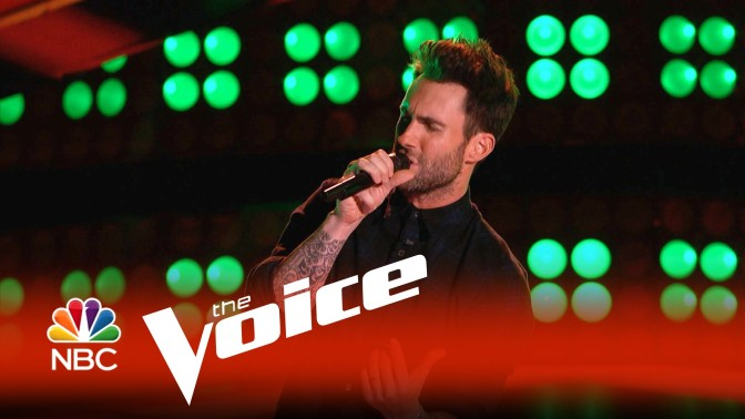 Adam Levine finally gets a Blind Audition: The Voice! 2015