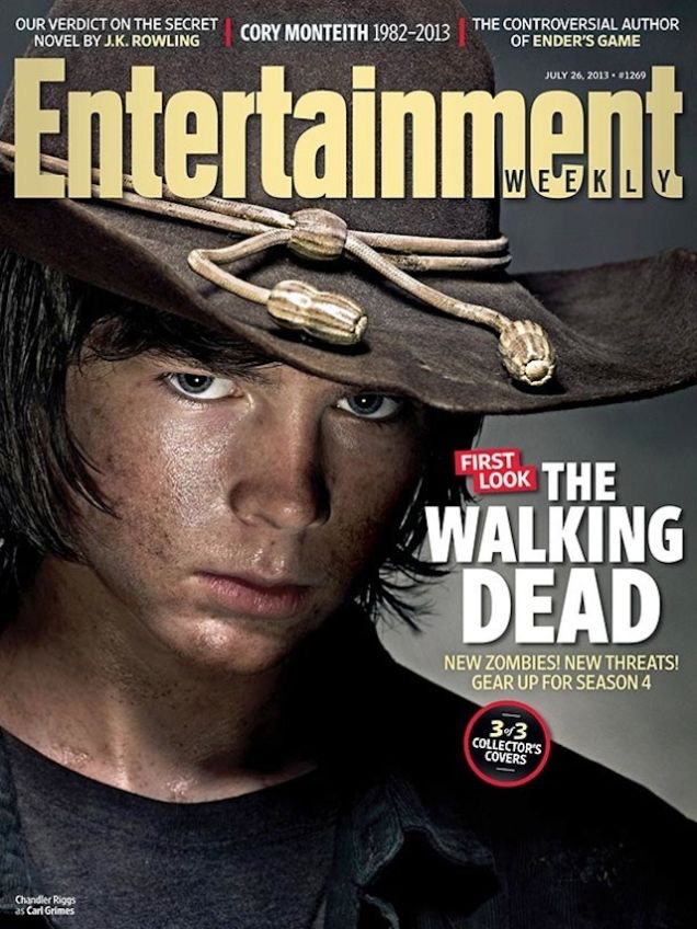 Carl Grimes from The Walking Dead throws down some serious flow in this bad lip reading music video!