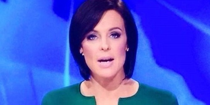 Australian News Anchor Has Penis Shaped Neckline (Video)