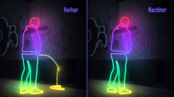 Water-Resistant Walls In Germany Shoot Pee Right Back At Drunk People And Its Pretty Funny