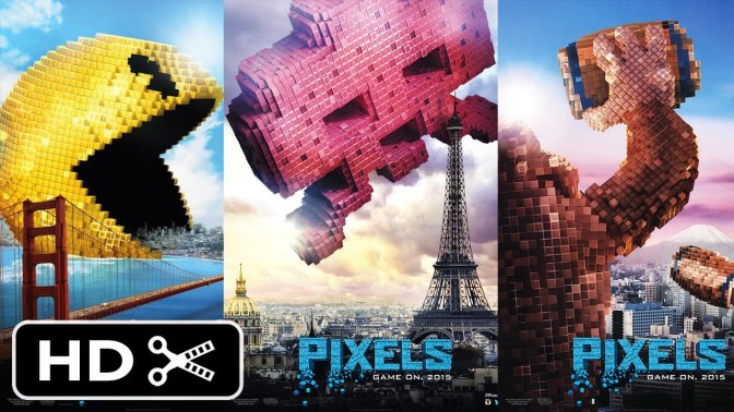 Check Out The Pixels Official Trailer (HD) – Summer 2015