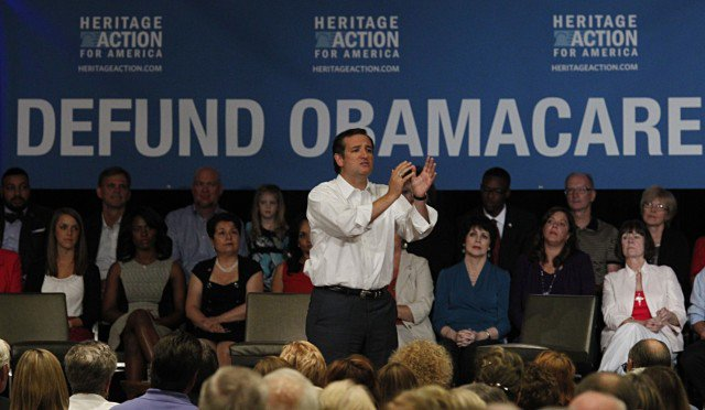 Hypocrite Senator Ted Cruz Joins Obamacare, While Condemning It?