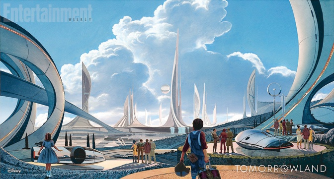 Tomorrowland Trailer looks pretty awesome!