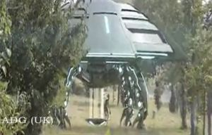 UFO-Lands-In-Chinese-National-Forest-Alien-Comes-Out-People-Flee